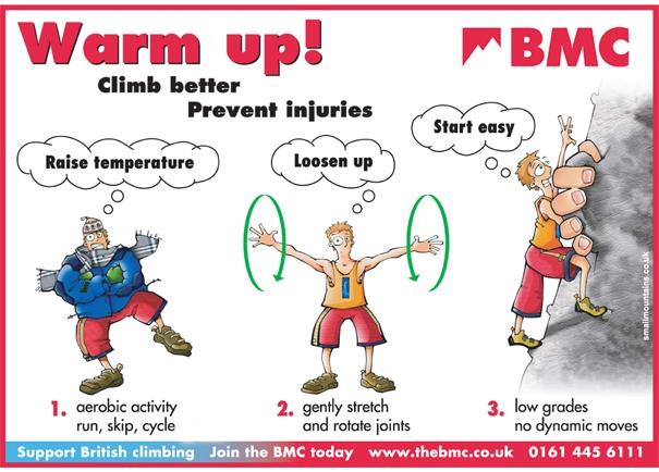 climbing injuries film warming up for climbing