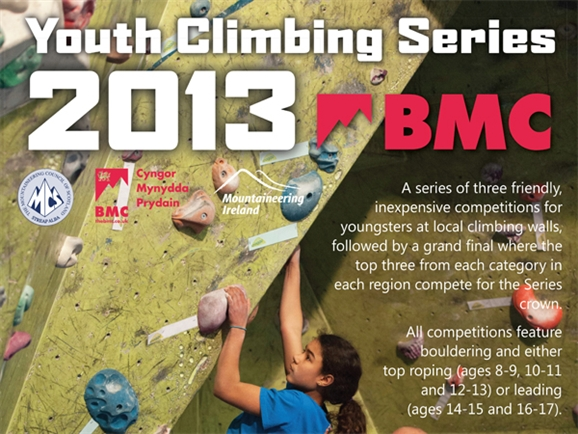 newcastle climbing centre bmc youth climbing series picture