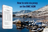 BMC AGM 17: how you can vote