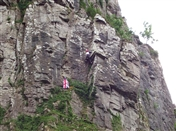 Cheddar climbers fly the flag for Diamond Jubilee