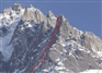 Excellent autumn conditions on Aiguilles Pèlerins and Peigne