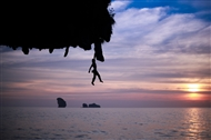 Climb skills: how to go deep-water soloing