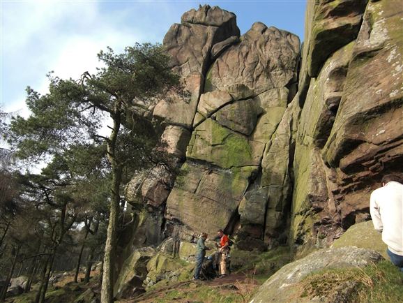 Staffordshire gritstone the roaches rock climbing guidebook.