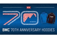 BMC 70th anniversary hoodies: now available