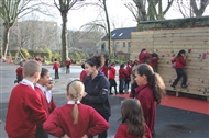 The primary school hooked on climbing