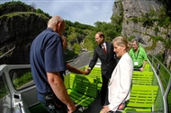 BMC warden guides Royal party on tour of Cheddar