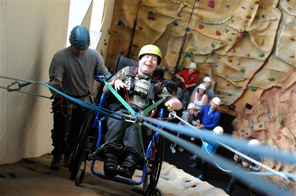 Autism Risk Climbs With Number Of >> Disability Needn T Stop You Climbing
