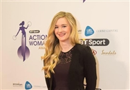 Climbing on the Red Carpet: Shauna Coxsey scoops second in BT Sport Action Woman Awards