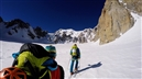 British duo fly away with Zephyr first ascent on Mont Maudit