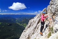 Get into via ferrata: the basics