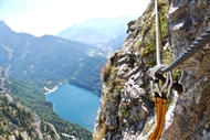Get into via ferrata: the gear
