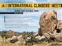 American Alpine Club Joshua Tree International Climbers meet 2015