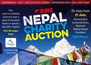 Over £24k raised as hammer comes down on BMC4Nepal charity auction