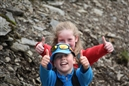 Llanberis primary school kids storm Snowdon