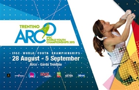 IFSC World Youth Championships - Arco, Italy starts this weekend