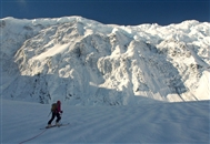 Argentinian-Chilean duo summit North America's highest unclimbed named mountain.