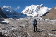 A two-man expedition, supported by the MEF, makes first ascent of Chinese-Kyrgyzstan border peak.