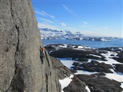 British team climb new routes on Greenland's west coast rock walls