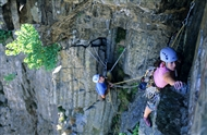 Young people: Learn to trad climb for £60