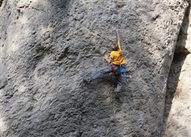 11-year-old Josh Ibbertson talks getting strong and ticking his first 8a+