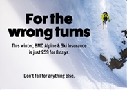 Don't miss: new winter BMC Travel Insurance offers