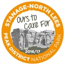Stanage sticker funds access improvements