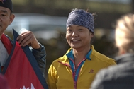 Nepal's child soldier turned skyrunning champ Mira Rai hits the UK