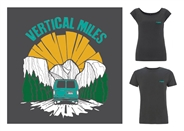 Hit the road with a Vertical Miles T-shirt
