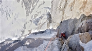 MEF supported expedition climbs hard new route in Alaska