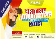 RESULTS: British Bouldering Championships 2016