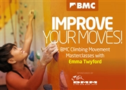 Improve your moves with Emma Twyford: BMC Climbing Movement Masterclasses