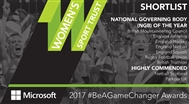 2017 #BeAGameChanger Awards