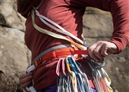 Outdoor trad climbing days for young people
