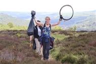 Army of outdoor enthusiasts harvest a panda's worth of rubbish from the Peak District