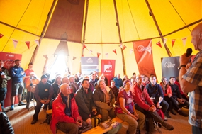 Free beer at the BMC and Montane Skills Camp at Keswick Mountain Festival