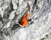 Steve McClure climbs Rainman: Britain