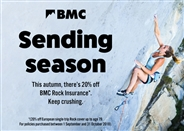 £29 for 7 days in sending season: book your rock climbing travel insurance now!