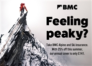 Pack for Alpine adventure: with BMC travel insurance discounts