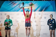 Shauna Coxsey crowned in Munich