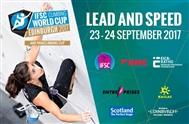 First senior IFSC Lead, Speed World Cup in 14 years on British soil