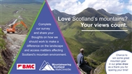 What are your concerns, hopes and priorities for Scotland's hills and crags?