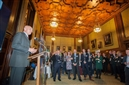 Alan Hinkes regales Westminster crowd to rally support for Mend Our Mountains: Make One Million