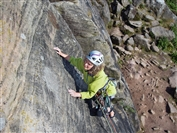 Rock climb outdoors with the Castle Mountaineering Club
