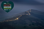 Light Night: Hundreds of walkers make dazzling display on the Great Ridge