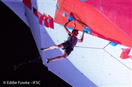 5th for Will Bosi at Chamonix IFSC Lead World Cup
