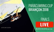 Watch live: the Paraclimbing Cup Briançon