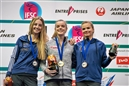 Gold for Hannah Slaney at her last IFSC Bouldering Youth World Championships