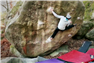 Nathan Phillips climbs Gecko assis 8B+