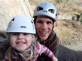 Top tips on cragging with kids
