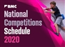 2020 National Competition Schedule